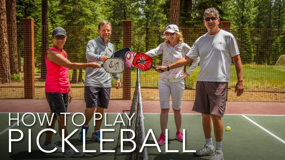 How To Play Pickleball | A Basic Overview