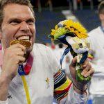 Belgium won gold