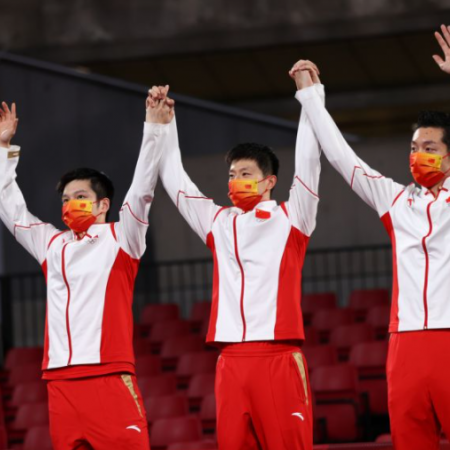 Tokyo Olympics: China takes men's team table tennis gold medal