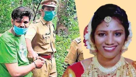 A Kerala court has sentenced a man to life in prison for killing his wife by having a snake bite her.