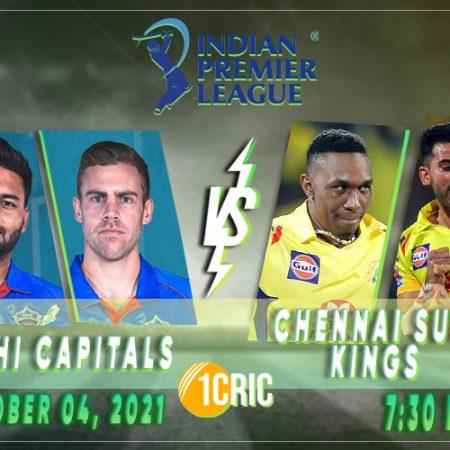 Indian Premier League 2021: DC vs CSK Prediction