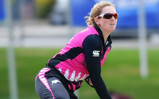 Anna Peterson the New Zealand all-rounder retires from the international cricket