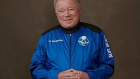 William Shatner, Star Trek's Captain Kirk, has set a new record for the oldest person to journey to space.