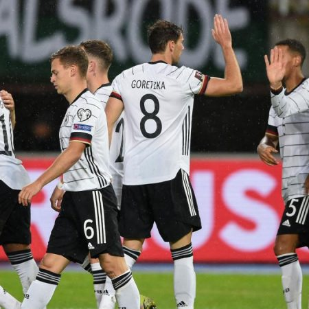 With a win in North Macedonia, Germany qualifies for the 2022 World Cup.