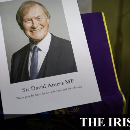 """The assassination of UK MP David Amess has been labeled a """"terrorist incident"""" by British police."""