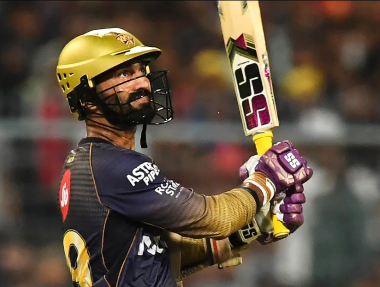 Dinesh Karthik was found guilty of breaching the Code of Conduct during the IPL 2021 Qualifier 2
