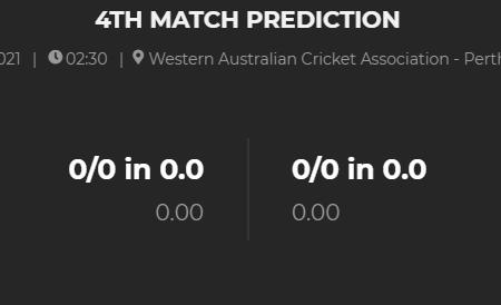 WESTERN AUSTRALIA vs TASMANIA 4TH Match Prediction